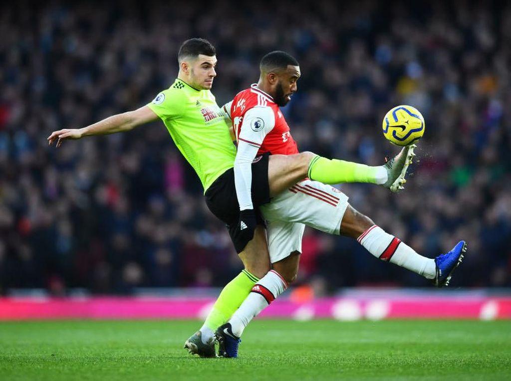 Arsenal Diredam Sheffield United 1-1 di Emirates