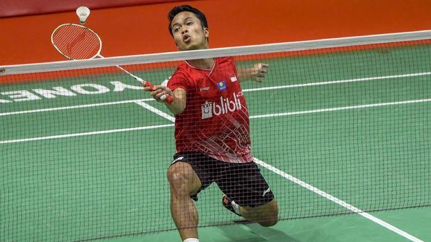 Kalahkan Antonsen, Anthony Juara Indonesia Masters 2020