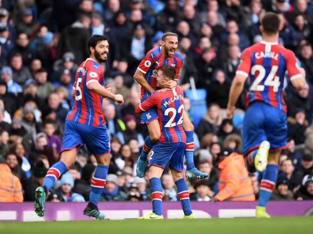 Man City Vs Crystal Palace: The Citizens Tertinggal 0-1 di Babak I