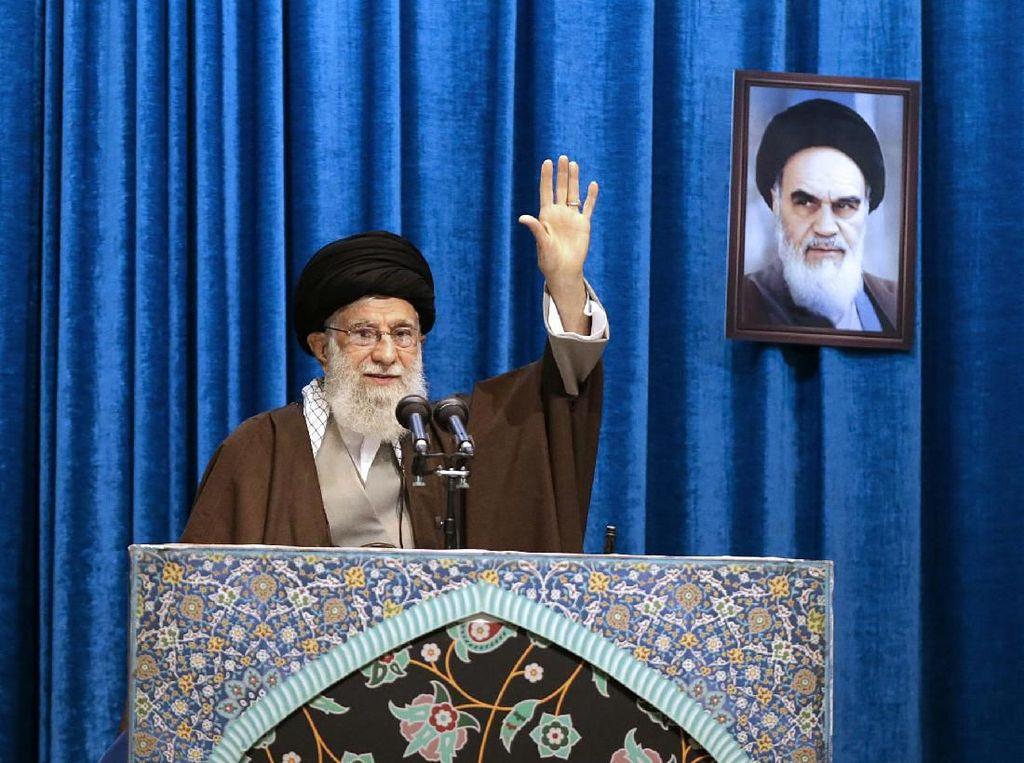 Urusan Nuklir Bikin Kata Manis Paman Sam Disindir Pemimpin Iran