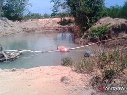 Polisi Tumpas Penambangan Pasir Ilegal di Bintan Kepri