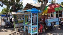 Pedagang Dadakan Bermunculan di Lokasi Pohon Menangis di Jember