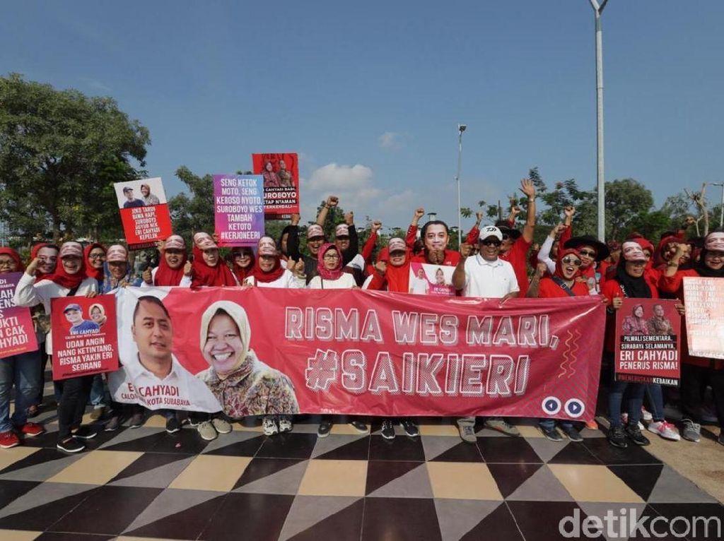 Puluhan Orang Surabaya Desak Eri Cahyadi Lanjutkan Kepemimpinan Risma