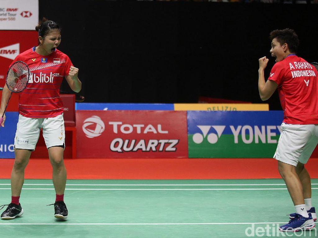 Toyota Thailand Open 2021: Indonesia Loloskan 3 Wakil ke Perempatfinal