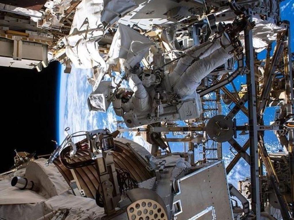 Cerita Astronaut NASA yang Bersiap Nyoblos Pilpres AS di Luar Angkasa