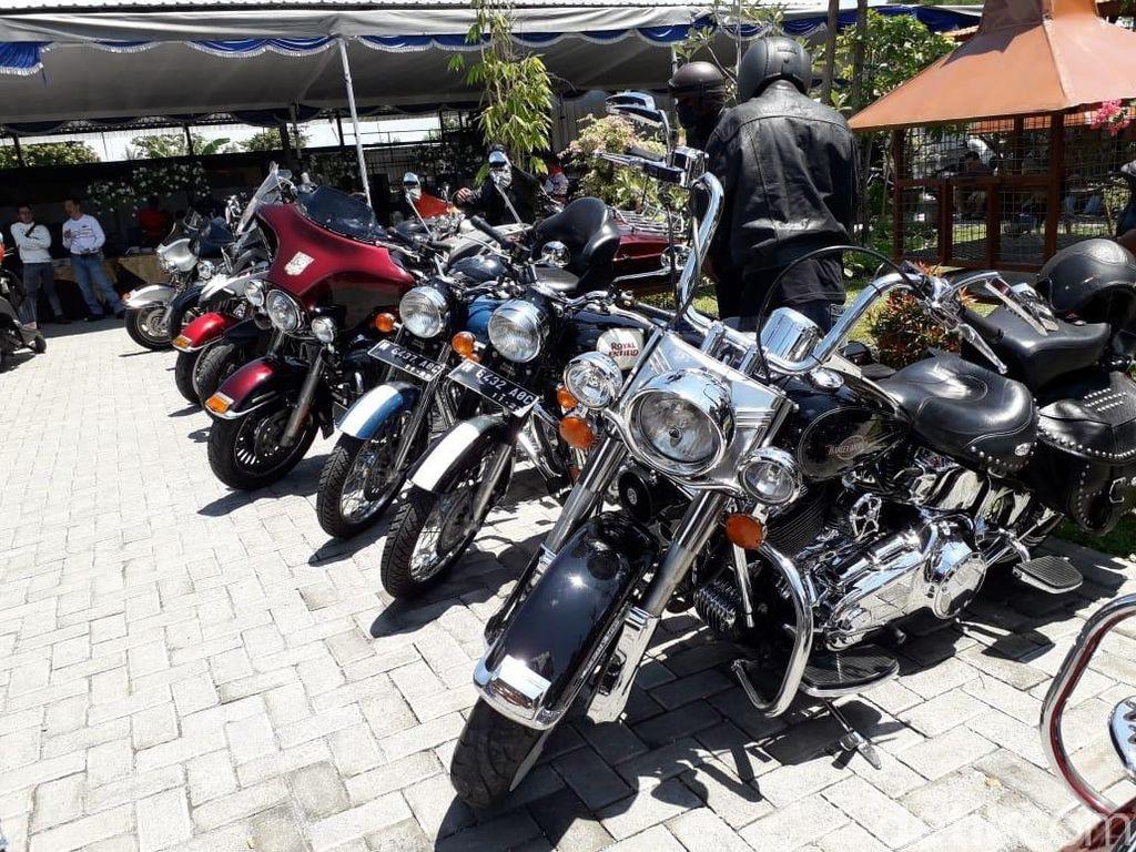 Modifikasi Gila! Motor Harley-Davidson Pakai Mesin Rumput Ternyata Bisa Jalan Juga