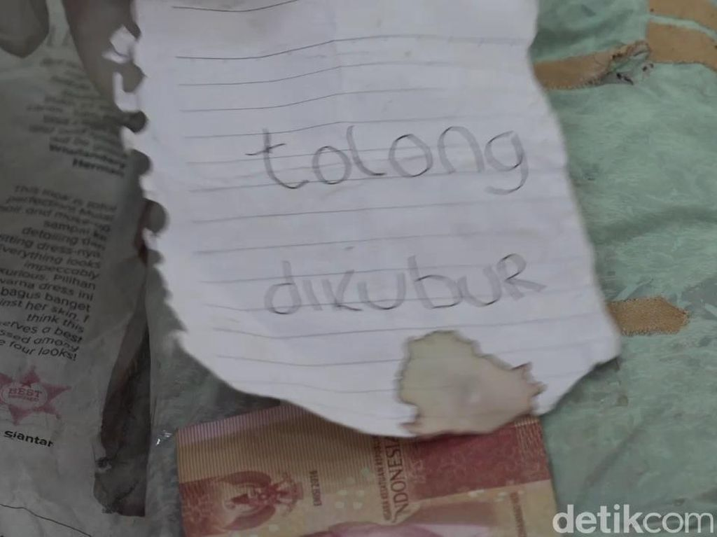 Video Janin Bayi Dibuang di Banyuwangi, Ada Surat Wasiat dan Uang
