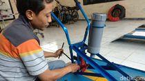 Keren, Petani Lamongan Ciptakan Gejik Modern Mampu Kerjakan 3 Pekerjaan