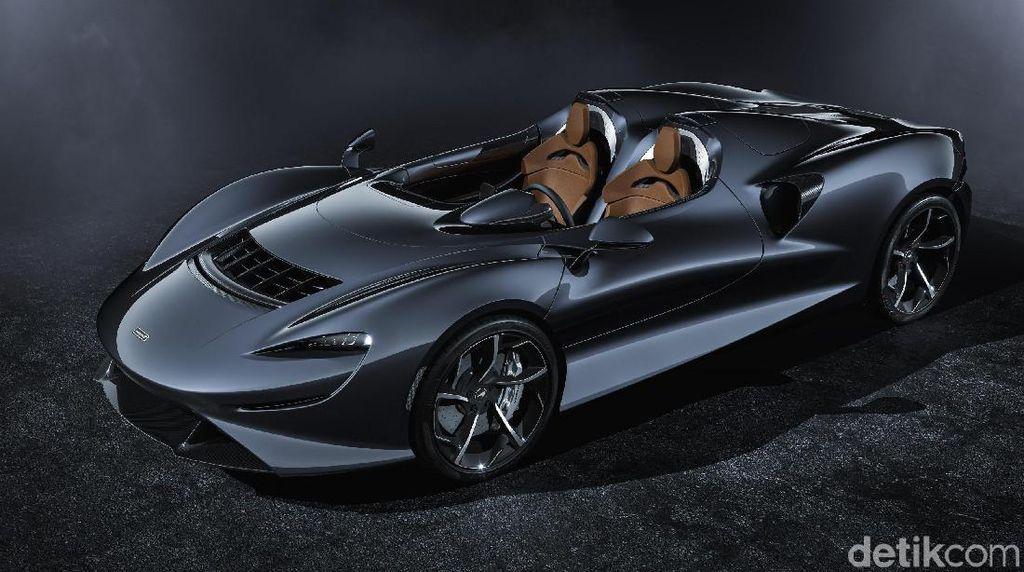 Mobil Cantik McLaren Elva Tanpa Kaca Depan dan Atap