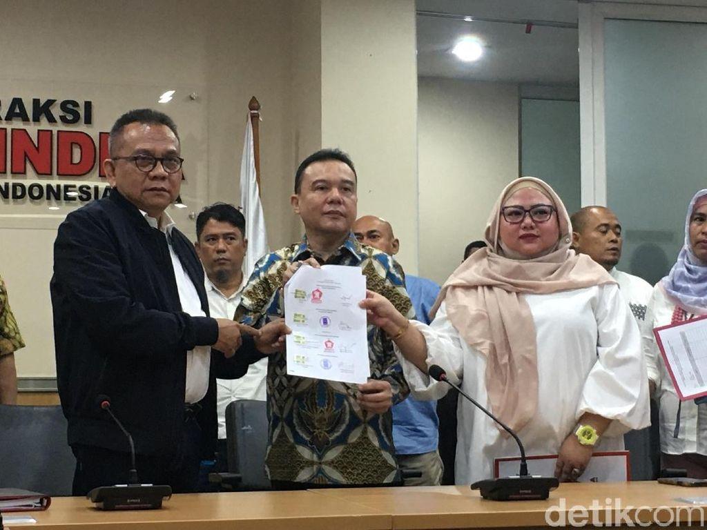 Gerindra Umumkan Riza Patria dan Nurmansyah Lubis Jadi Cawagub DKI