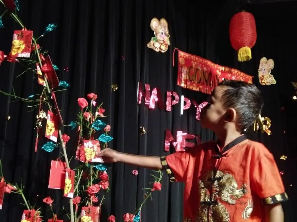 Libur Imlek, Di Yogyakarta Ada Pohon Angpao