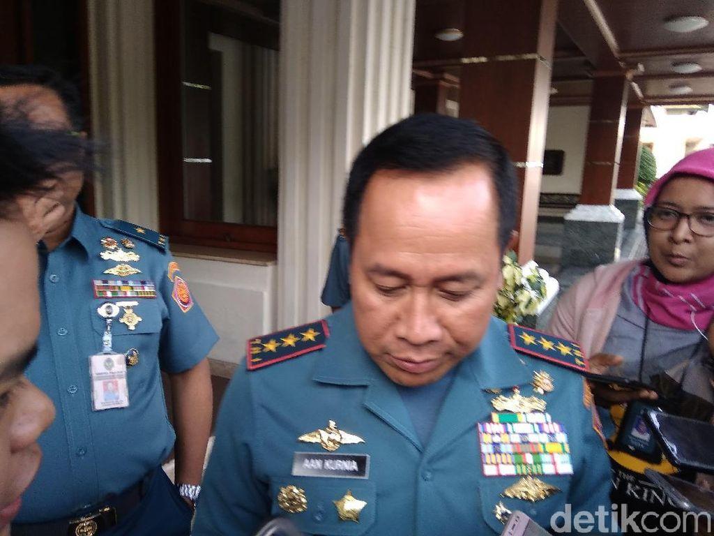 Ditunjuk Jokowi Jadi Kabakamla, Laksdya Aan Kurnia Temui Mahfud Md