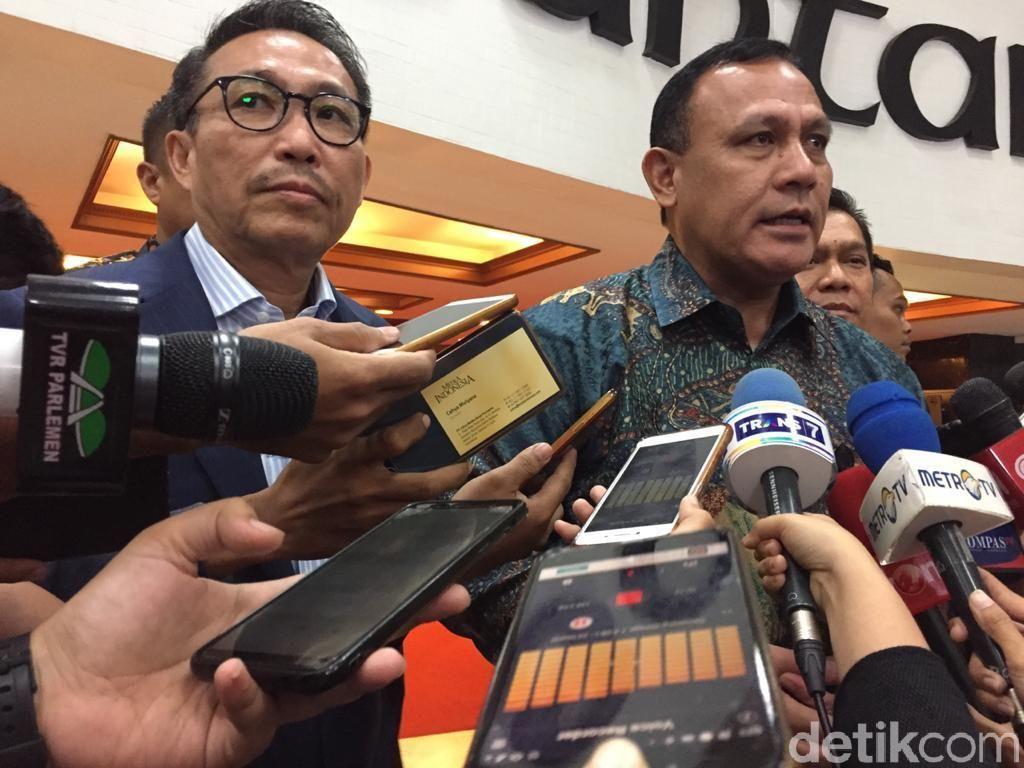 Ketua KPK Empaskan Pendapat Kasus Wahyu Setiawan Penipuan