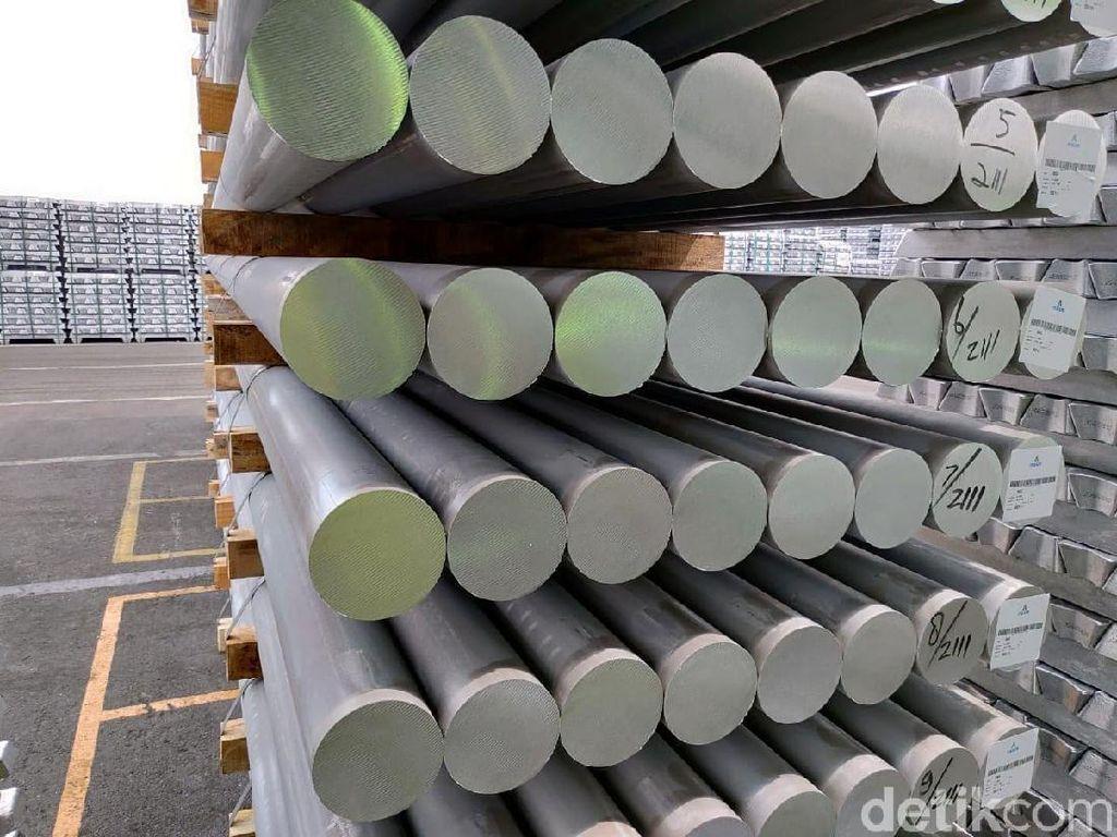Lampaui Target, Inalum Produksi 245 Ribu Ton Aluminium di 2020