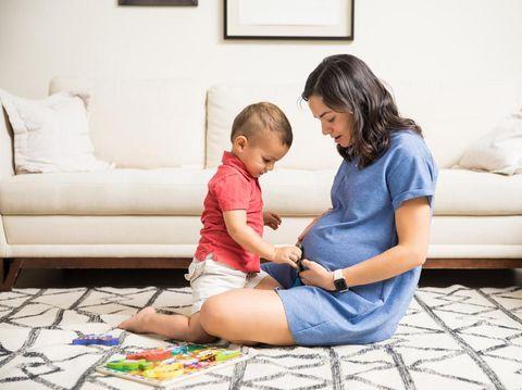 Ilustrasi beda usia kehamilan pertama dan kedua