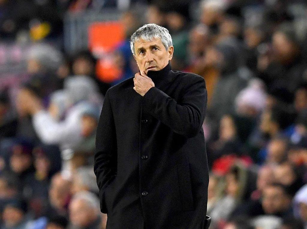 VAR Dianggap Untungkan Madrid, Ini Reaksi Pelatih Barcelona