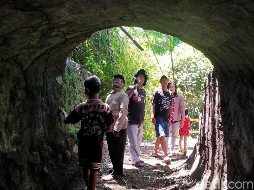 Terowongan Era Kolonial di Klaten Ramai Didatangi Warga