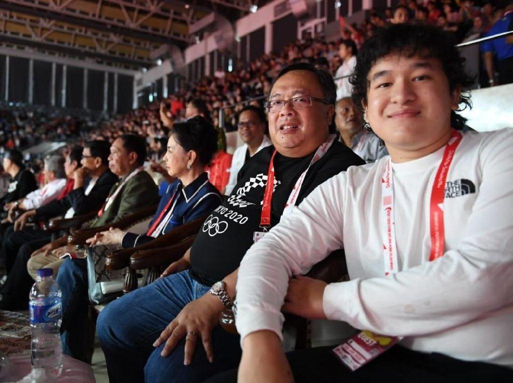 Keseruan Menristek di Indonesia Masters 2020