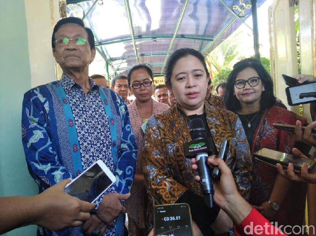 Puan soal Kader PDIP Jadi Tersangka KPK: Tanya PDIP, Bukan ke Ketua DPR