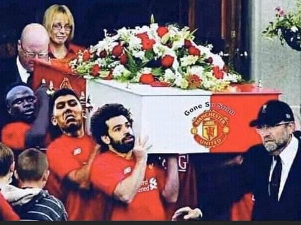 Aneka Meme Lucu Usai Liverpool Kalahkan MU