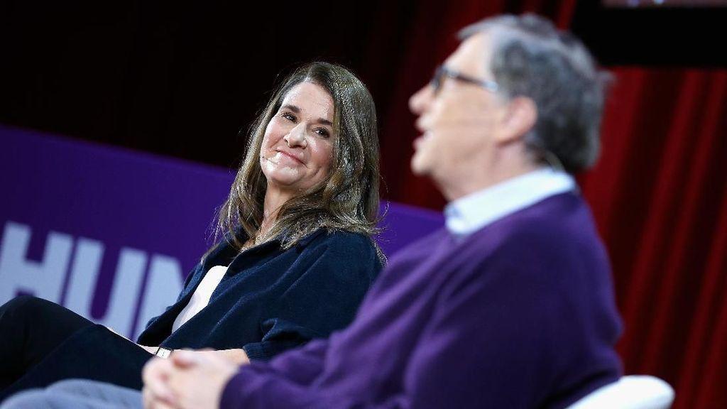 Kemesraan Bill Gates dan Melinda yang Tinggal Kenangan