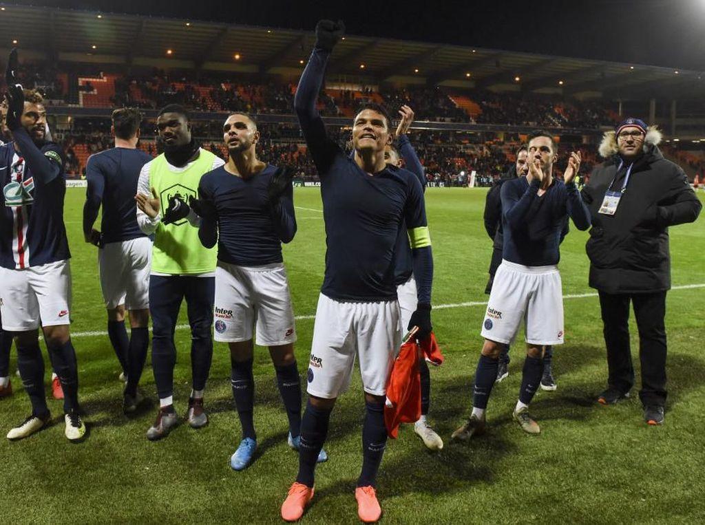 Hasil Piala Prancis 2020: PSG Tundukkan Lorient 1-0