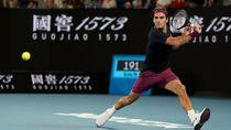 Menang Straight Set, Federer ke Babak Kedua Australia Terbuka