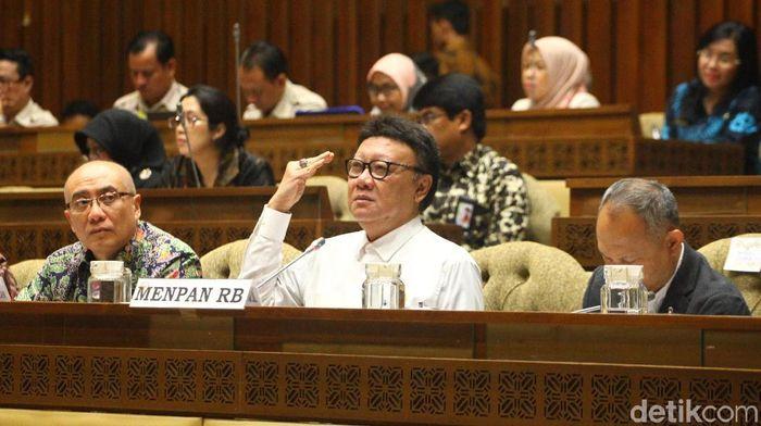 Menteri PAN-RB Tjahjo Kumolo/Foto: Lamhot Aritonang