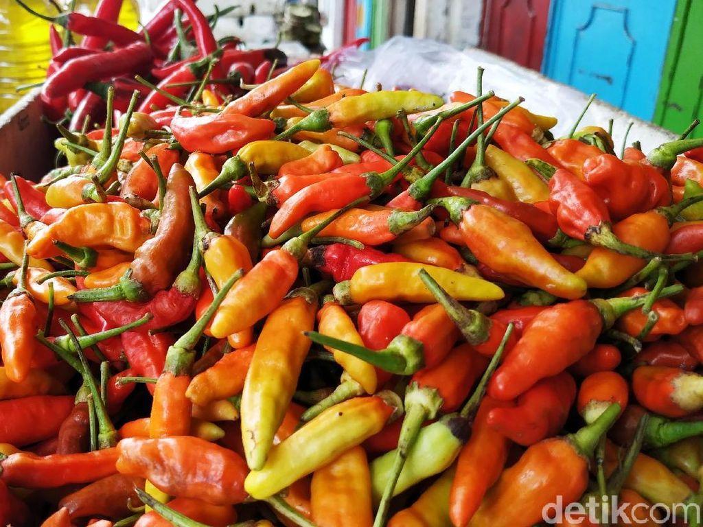 Gara-gara Jamur, Harga Cabai di Pasar Blitar Melonjak