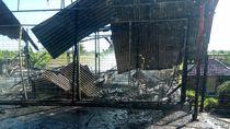 Kebakaran Restoran di Canggu Bali Merembet ke Toko, Bagunan Ludes