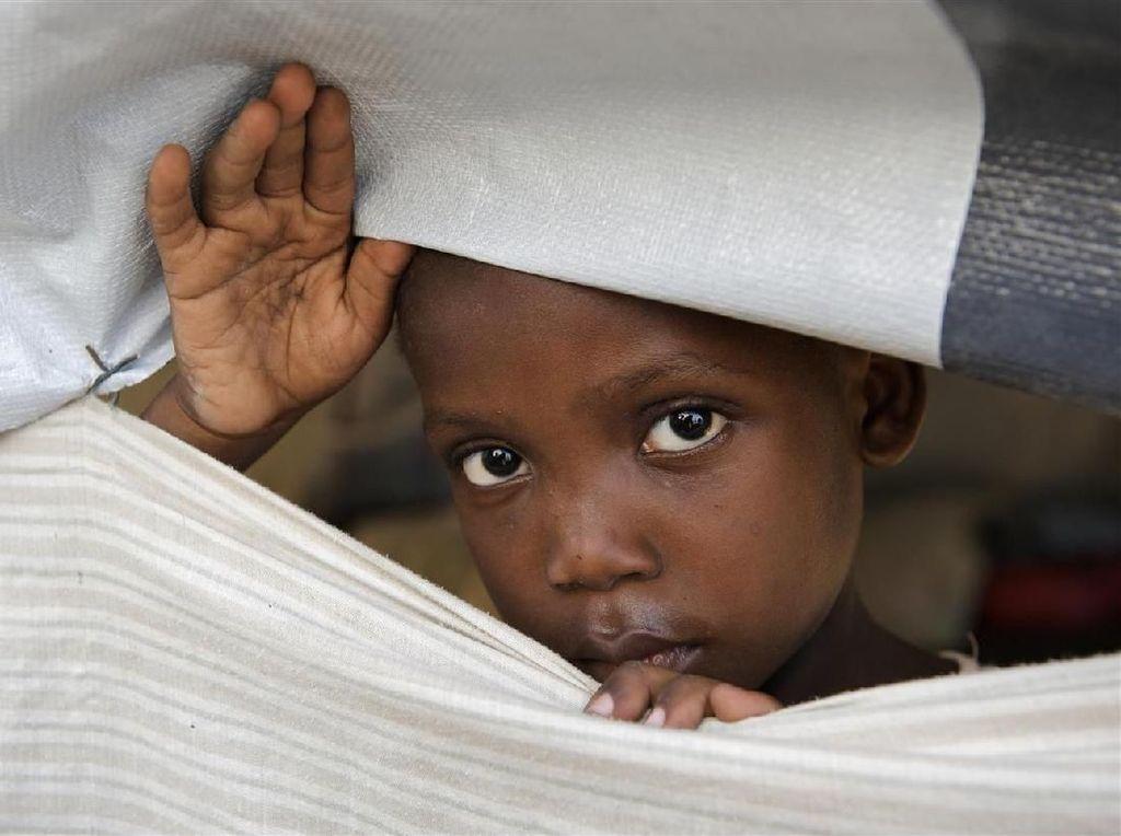Kondisi Anak-anak dan Perempuan Pascasatu Dekade Gempa Haiti