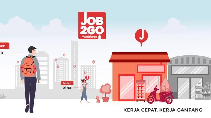 Job2Go, Startup pencari informasi kerja part time hingga full time. Foto: Job2Go