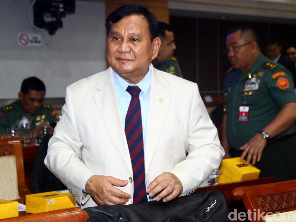 Prabowo: Alutsista-Infrastruktur Hebat Tak Punya Arti Jika Tanpa Cukup Pangan