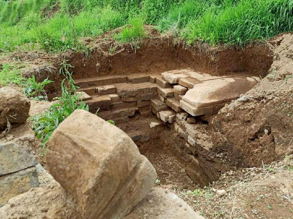 Bangunan yang Ditemukan Warga Saat Bikin Septic Tank Dipastikan Candi