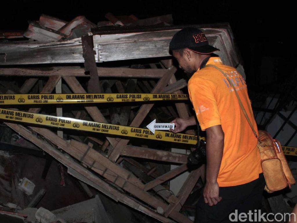 Video Rumah Warga di Cimahi Hancur Akibat Tabung Gas Meledak