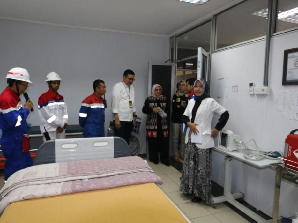 Kunjungi Kilang Pertamina Balikpapan, Menaker Puji Implementasi K3