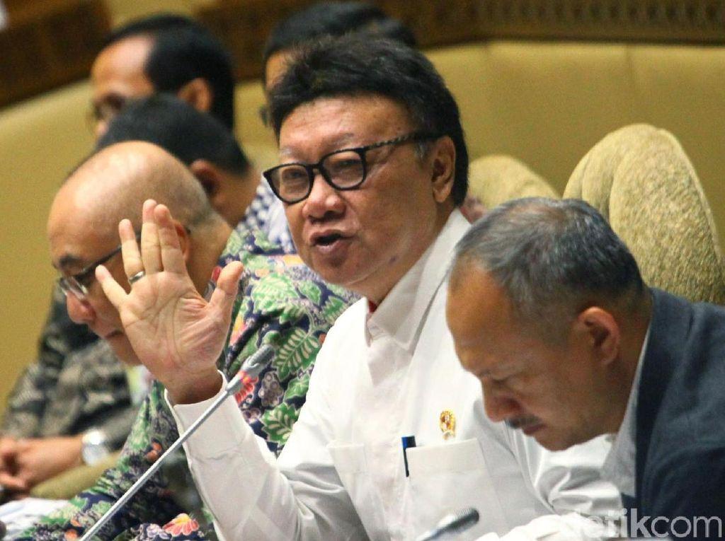 Menpan-RB Tjahjo Kumolo Sebut Penyederhanaan Birokrasi Sudah 60 Persen