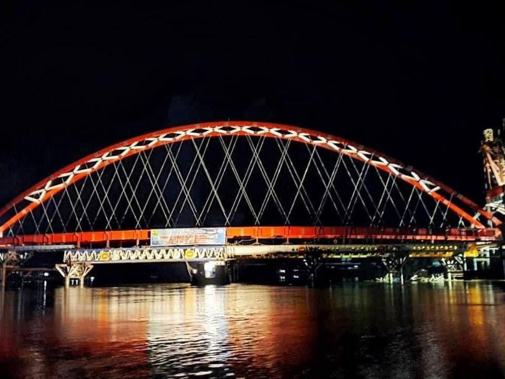 Segera Rampung, Ini Proyek Jembatan Tumbang Samba di Kalteng