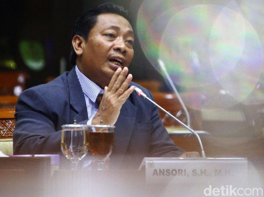 Momen Calon Hakim Agung Ansori Diuji Komisi III