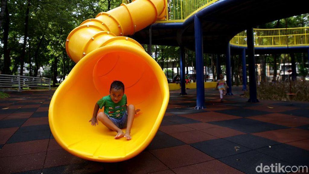 Wajah Baru Taman Puring yang Ramah Anak