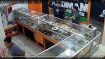 Perampok yang Viral Todong Korban di Warteg Jaksel Masih Diburu Polisi