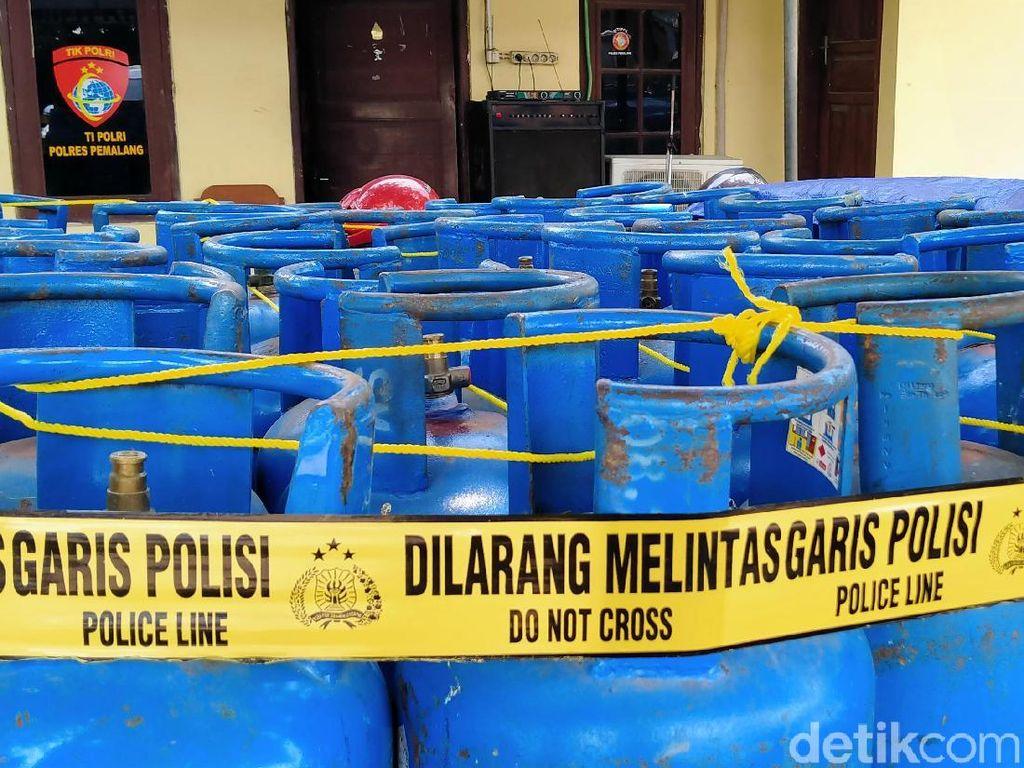 Pengoplos Gas Melon ke Tabung 12 Kg Diciduk, Sehari Raup Ratusan Ribu