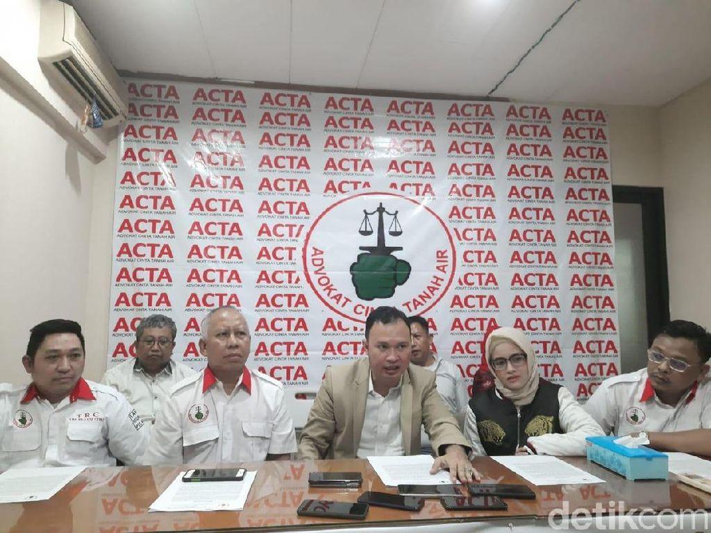 ACTA Siap Beri Bantuan Hukum ke Pelajar yang Bunuh Begal karena Bela Pacar