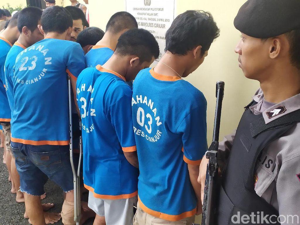 Polisi Amankan 26 Pelaku Curanmor di Cianjur, Enam di Antaranya Residivis