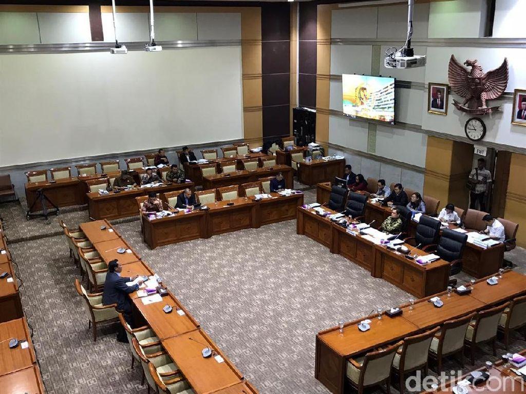 Komisi III Mulai Uji Kelayakan Calon Hakim Agung