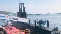Kapal Selam Pertama Indonesia Lulus Tes Nominal Diving Depth di Banyuwangi