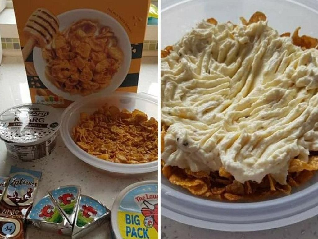 Cheesecake Sehat Dibuat dari Cornflake dan Keju, Banyak Netizen Kesal