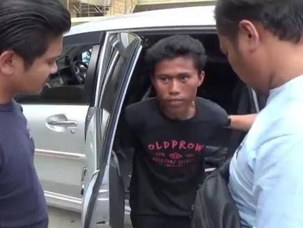 Polisi Ciduk Maling Spesialis Cungkil Jok Motor