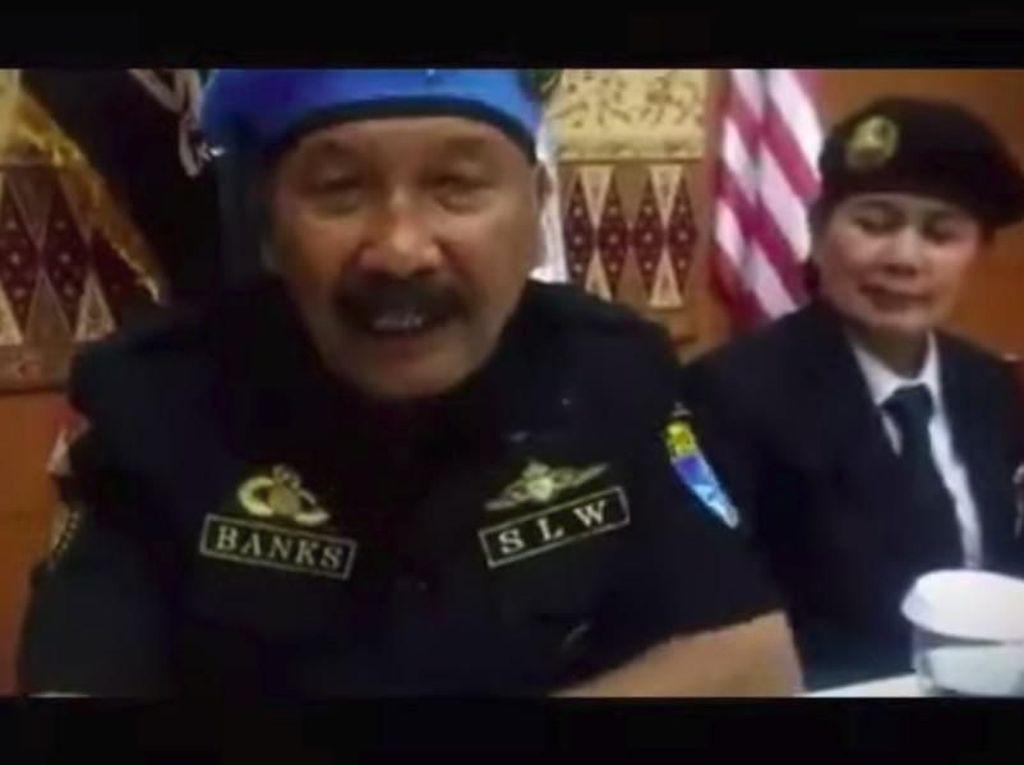 Polisi Periksa Dedengkot Sunda Empire Nasri Banks, Apa Hasilnya?