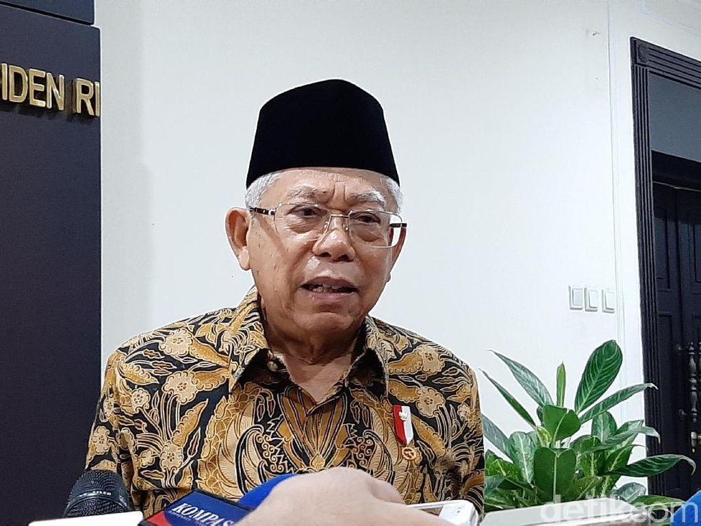 Ronny Sompie Dicopot, Maruf Amin: Tanya Yasonna Seberapa Lalainya